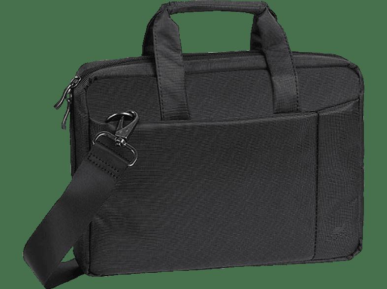 RIVACASE 8211 Notebooktasche, Aktentasche, 10.1 Zoll, Schwarz