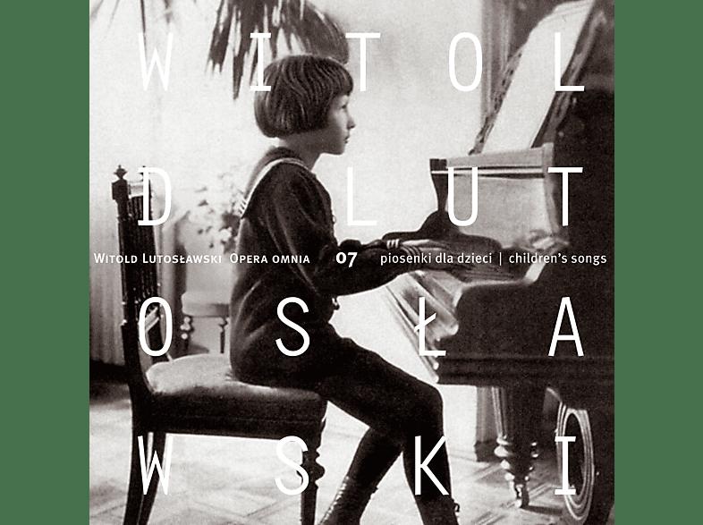 Chór Chłopięcy NFM, Lutosławski Quartet, Instrumentaliści NFM Filharmonii Wrocławskiej, Lutosair Quintet - Witold Lutosławski – Opera Omnia 7 (Piosenki Dla Dzieci) [CD]