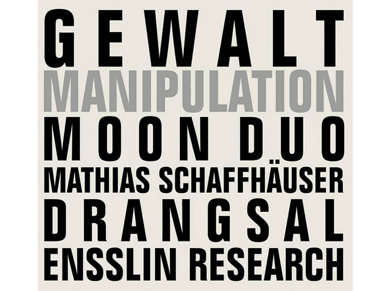 Gewalt - Manipulation [Vinyl]