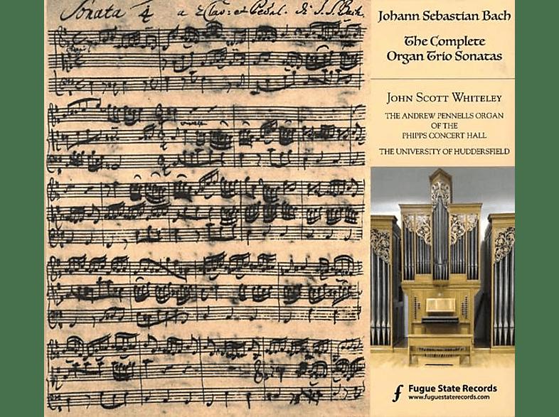 John Scott Whiteley - The Complete Organ Trio Sonatas [CD]