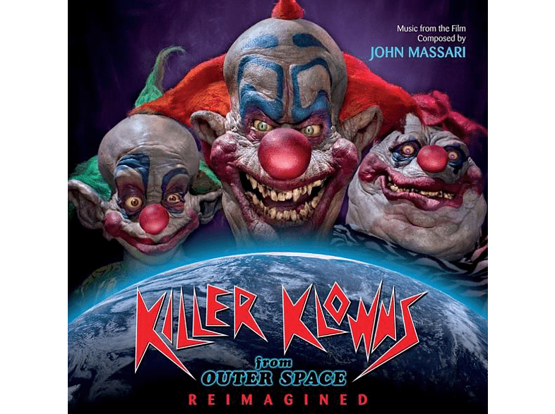 HOLLYWOOD ORCHESTRA / BEAR MCCREARY - Space Invaders/Killer Klowns from Outer Space [CD]