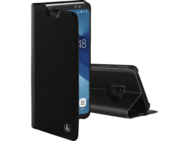 HAMA Slim Pro , Bookcover, Samsung, Galaxy A6 (2018), Polyurethan, Schwarz