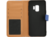 V-DESIGN BV 391 , Bookcover, Samsung, Galaxy S9, Blau