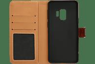 V-DESIGN BV 392 , Bookcover, Samsung, Galaxy S9, Braun