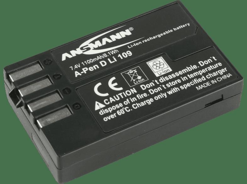 ANSMANN 1400-0020 A-Pen D-Li 109 Akku Pentax , Li-Ion, 7.4 Volt, 1100 mAh