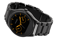 X-WATCH  QIN XW PRIME II Smartwatch Metall, Metall, 265 mm, Schwarz