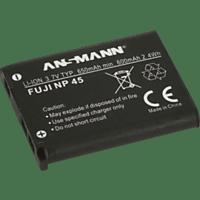 ANSMANN 1400-0036 A-Fuj NP45 Akku Fujifilm , Li-Ion, 3.7 Volt, 650 mAh