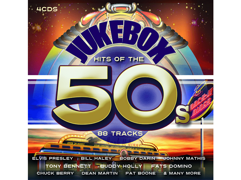 VARIOUS - JUKEBOX HITS OF THE 50'S [CD]