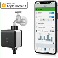 EVE Aqua (Vorgängermodel zu 2657340) Smarte Bewässerungssteuerung , Apple HomeKit, Bluetooth, Schwarz