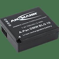 ANSMANN 1400-0063 A-Pan DMW-BLG 10 Akku Panasonic , Li-Ion, 7.4 Volt, 730 mAh