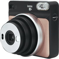 FUJIFILM Instax SQUARE SQ6 Sofortbildkamera, Blush Gold