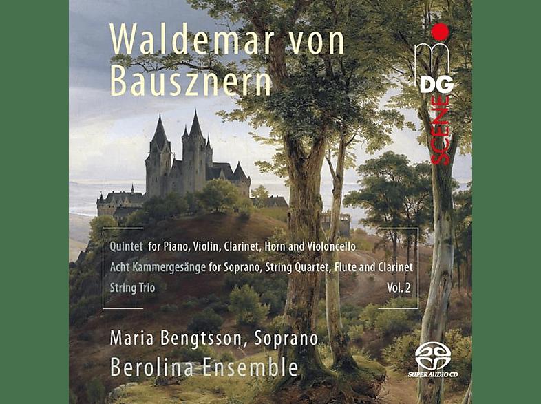 Maria/berolina Ensem Bengtsson - Quintett,8 Kammergesänge,Streichtro [SACD Hybrid]