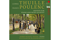 Denis/stuttgart Russell Davies - Sextette für Klavier und Bläser [CD]