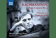 Boris/prieto/royal Sc Giltburg - Klavierkonzert 3,op.30/Variationen [CD]