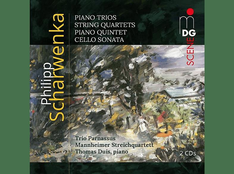 Michael Gross, Thomas Duis, Trio Parnassus, Mannheimer Streichquartett - Klaviertrios/Streichquartette/Klavierquintette/+ [CD]