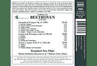 Makoto Ueno, Mitsuo Kodama, Kazunori Seo - Werke für Flöte Vol.2 [CD]