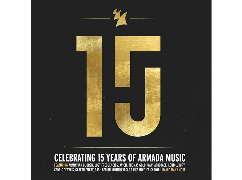 VARIOUS - Armada 15 Years (Special Digipack Limited Edition) [CD]