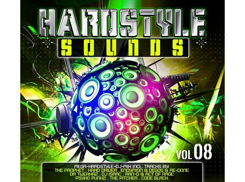 VARIOUS - Hardstyle Sounds Vol.8 [CD]