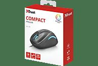 TRUST YVI FX Compact Maus, Schwarz