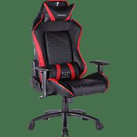 TESORO Gaming Stuhl Tesoro F710 Zone Balance  Gaming Stuhl, Schwarz & Rot