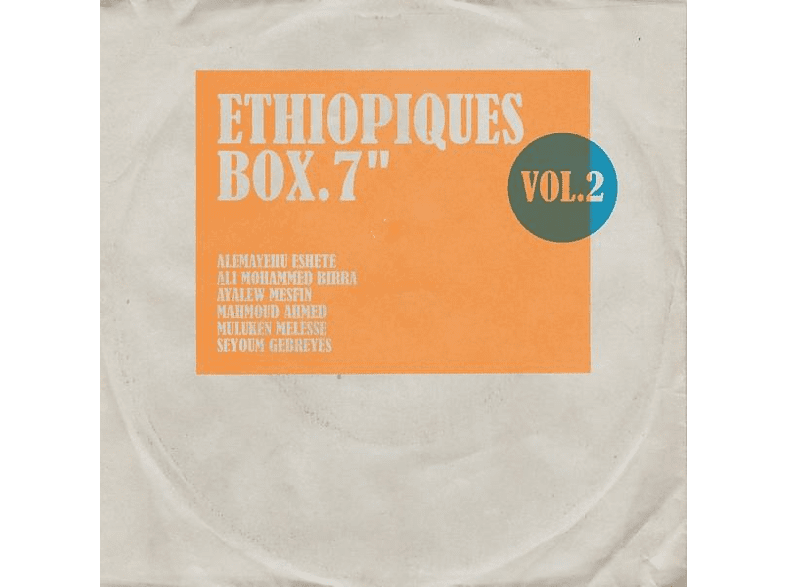 "VARIOUS - Ethiopiques Box Vol.2 (Lim.Ed.6x7"" Box) [Vinyl]"