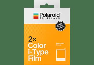 POLAROID Sofortbildfilm Color i-Type Doppelpack (2 x 8 Bilder)