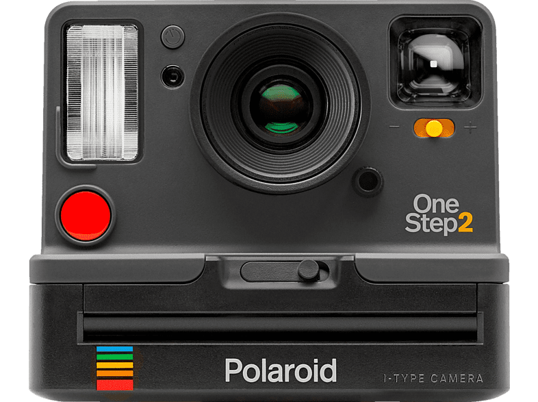 POLAROID ORIGINALS OneStep 2 Viewfinder Sofortbildkamera, Grau/Schwarz