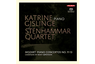 Karine Gislinge, Steinhammar Quartet - Klavierkonzerte 11-13 [SACD Hybrid]