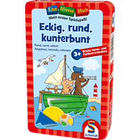 SCHMIDT SPIELE (UE) Ene Mene Muh - Eckig, rund, kunterbunt Reisespiel