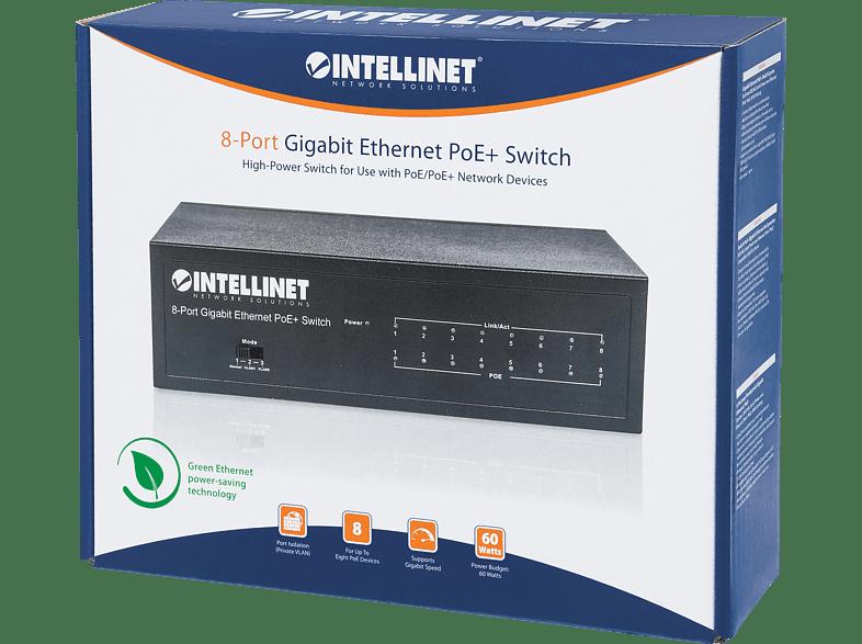Switch INTELLINET 561204 8PORT GIGABIT ETHERNET POE+