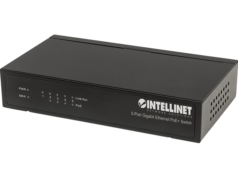 Switch INTELLINET 561228 5PORT GIGAB ETHERN.POE+