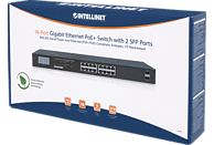 Gigabit Ethernet INTELLINET 561259 19 16-PORT GIGABIT ETHERNET POE+SWITCH 2SFP 16
