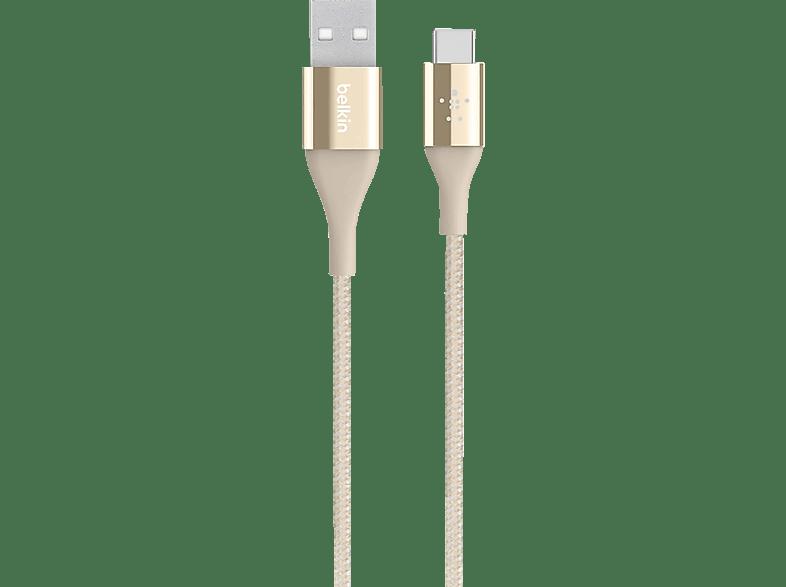 BELKIN Duratek DuPont Kevlar, USB-Kabel, 1.2 m, Gold
