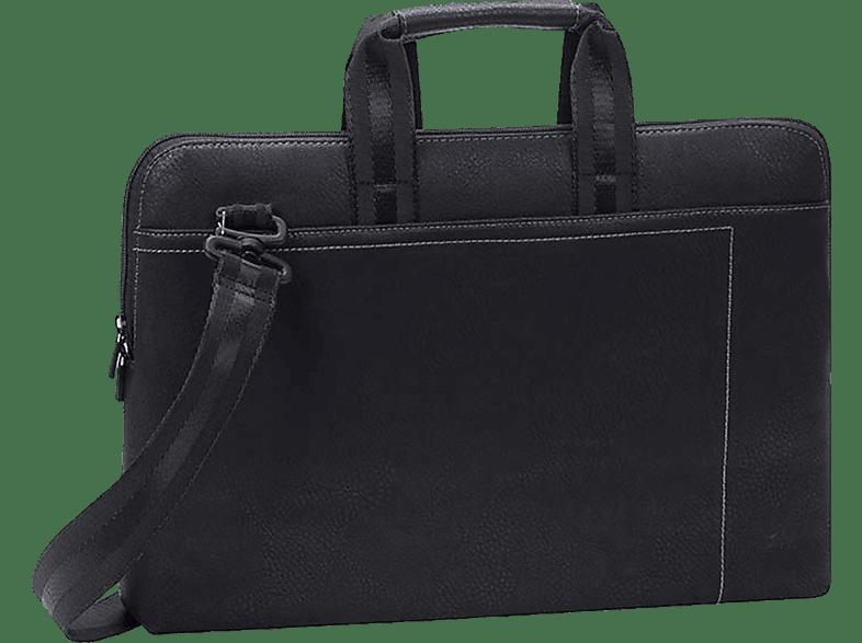 RIVACASE 8930 Notebooktasche, Aktentasche, 15.6 Zoll, Schwarz