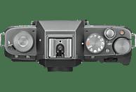 FUJIFILM X-T100 Systemkamera 24.2 Megapixel mit Objektiv nur Gehäuse , 7.6 cm Display   Touchscreen, WLAN