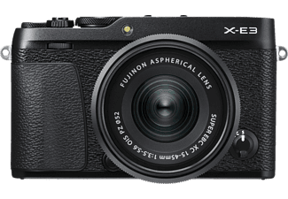 FUJIFILM X-E3 + 15-45MM XC - Appareil photo à objectif interchangeable (Résolution photo effective: 24.3 MP) Noir