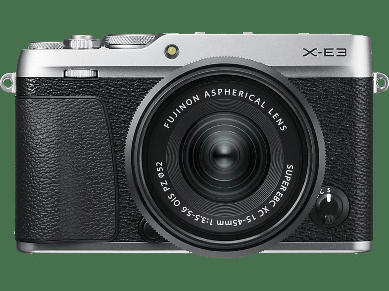 FUJIFILM X-E3 Systemkamera 24.3 Megapixel mit Objektiv 15-45 mm , 7.6 cm Display  , WLAN