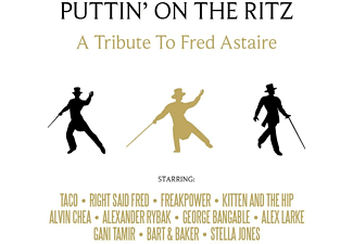Fred Astaire - PUTTIN' ON THE RITZ-A Tribute To Fred Astaire  - (CD)
