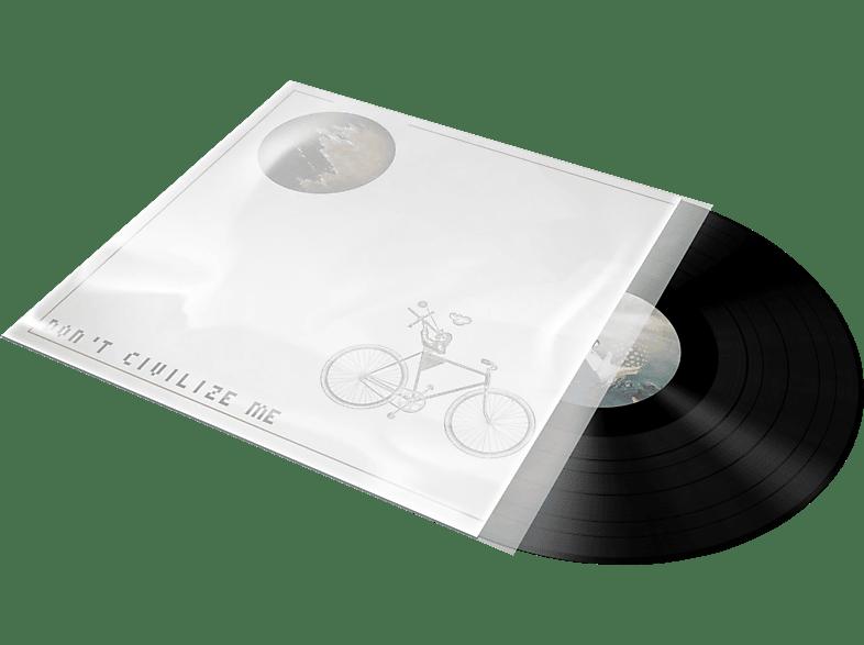 RCA D1C84043 Schutzhüllen für Platten-Cover, Transparent