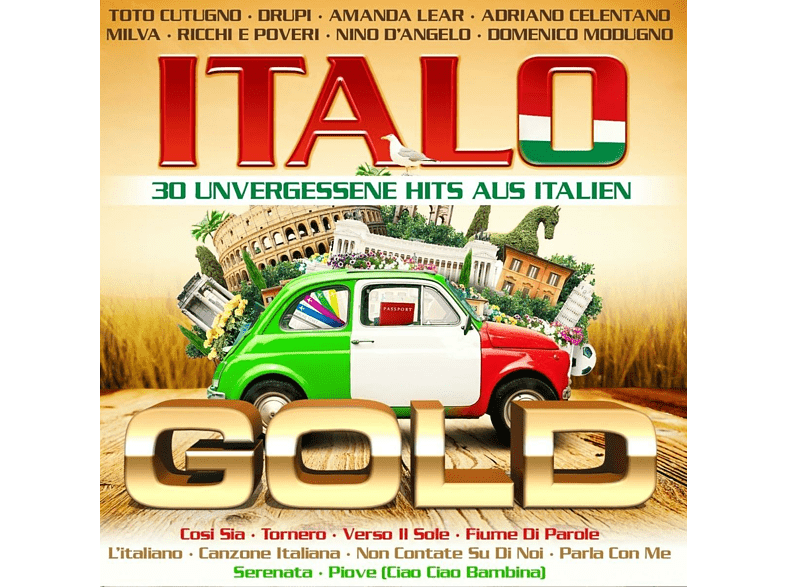 VARIOUS - Italo Gold - 30 Unvergessene Hits Aus Italien [CD]