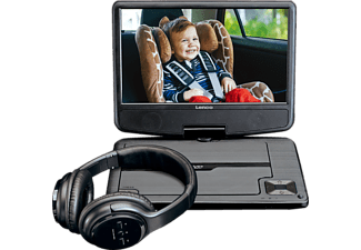 LENCO DV 947 BK Tragbarer DVD-Player, Schwarz