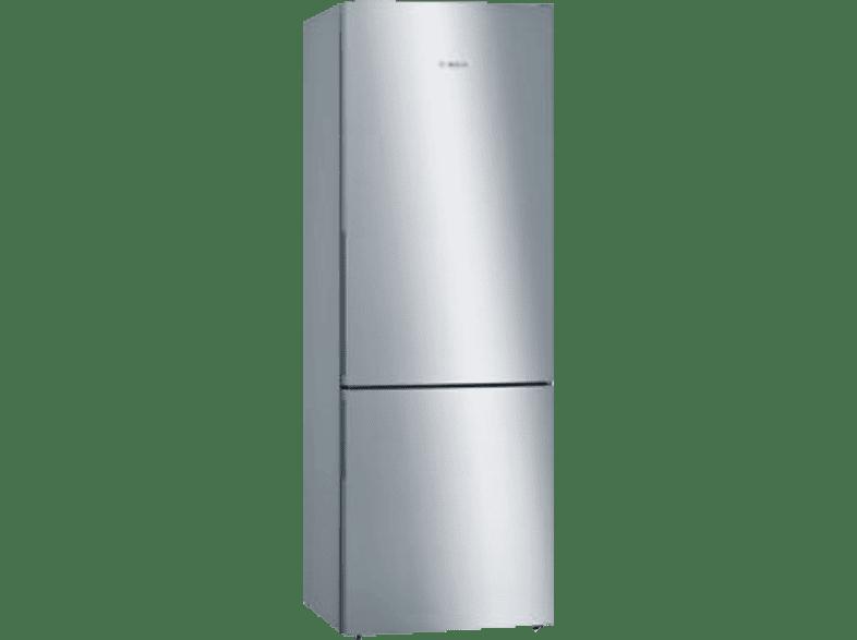 BOSCH KGE49VI4A  Kühlgefrierkombination (A+++, 190 kWh/Jahr, 2010 mm hoch, Edelstahl)