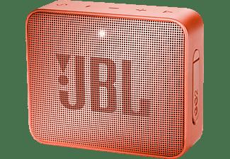 Altavoz inalámbrico - JBL GO 2 Cinnamon, 3 W, Bluetooth, IPX7, Micrófono, Canela