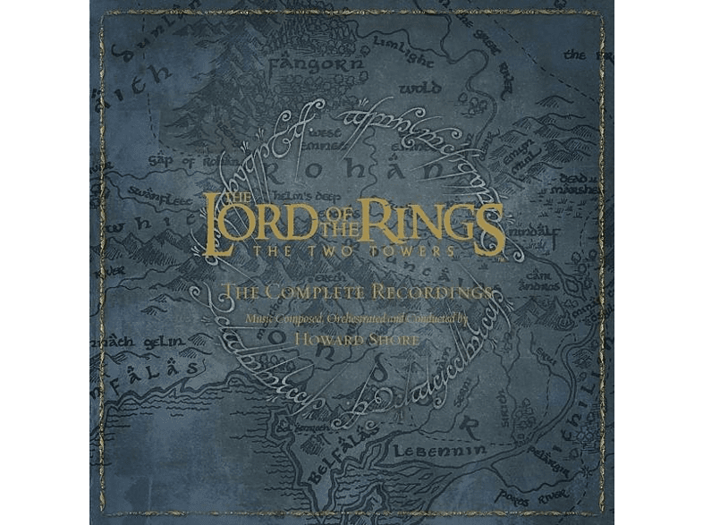 Howard Shore - The Lord Of The Rings:The Two Towers-The Complete [CD + Blu-ray Audio]