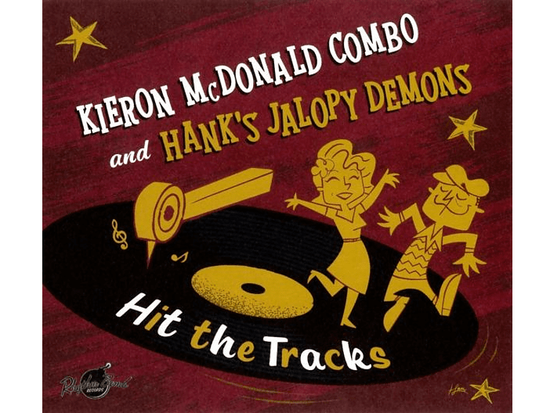 Kieron/hank's Jalopy Demons Mcdonald - Hit The Tracks (Lim.Ed./Split Album) [Vinyl]