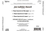Ulster Orchestra - PIANO CONCERTOS OP 3 14 & 49 [CD]