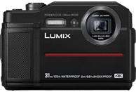 PANASONIC DC-FT 7 EG-K Digitalkamera  Schwarz, 4.6x opt. Zoom, TFT-LCD, WLAN