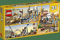 LEGO Piraten-Achterbahn (31084) Bausatz, Mehrfarbig