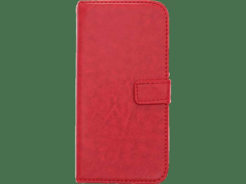 V-DESIGN BV 382 , Bookcover, Huawei, P20 Lite, Kunstleder, Rot