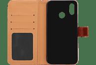 V-DESIGN BV 380 , Bookcover, Huawei, P20 Lite, Kunstleder, Braun